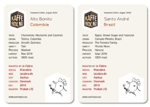 la cabra nordic roast coffee subscription